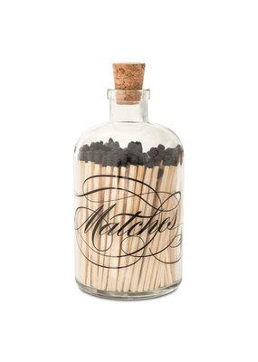 Skeem Design Cursive Glass Match Bottle