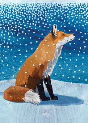 Allport Fox in the Snow Holiday Cards