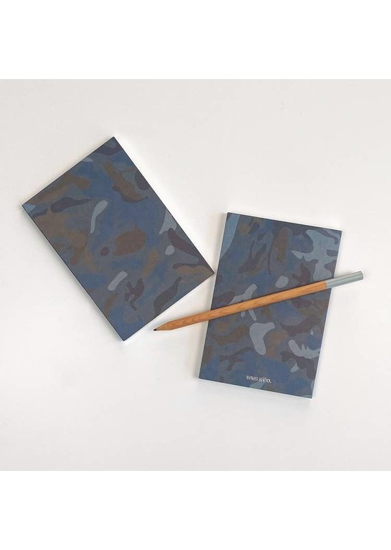 Wms. & Co. Camo Jotters Notebook Set