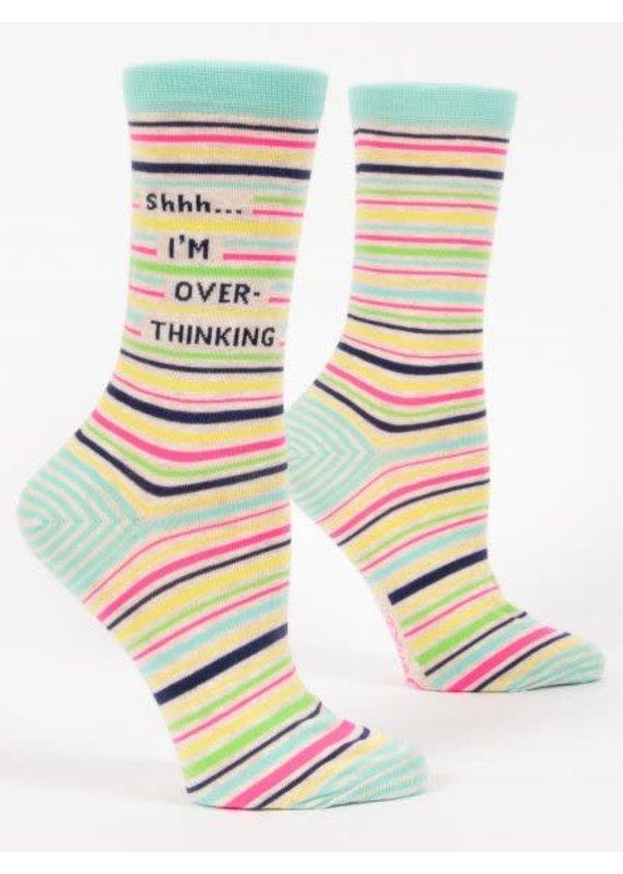 blue q Overthinking Socks