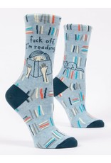 blue q F Off i'm Reading Socks