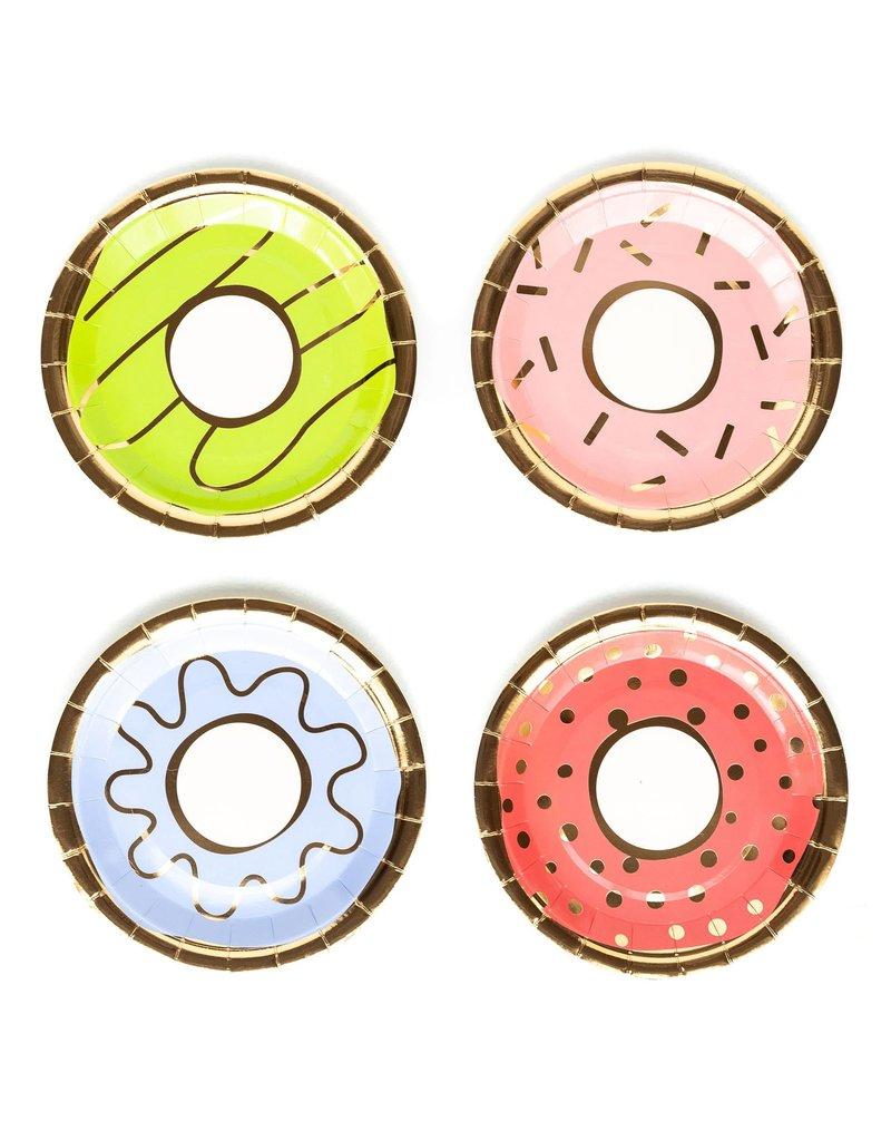 "My Mind's Eye Donut Plates 7"""