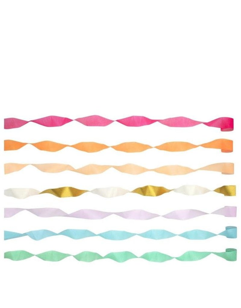 Meri Meri Bright Crepe paper Streamers