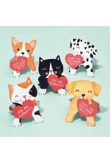 Paper Source Dogs and Cats Valentine Card Kit