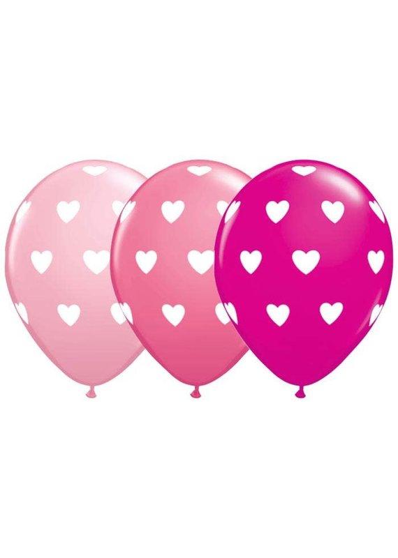 Latex Heart Balloons