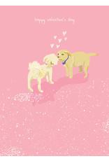 Puppies Kissing