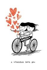 Carte Wheelie Love You