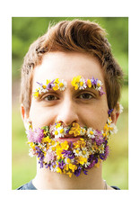 Palm Press Flower Beard