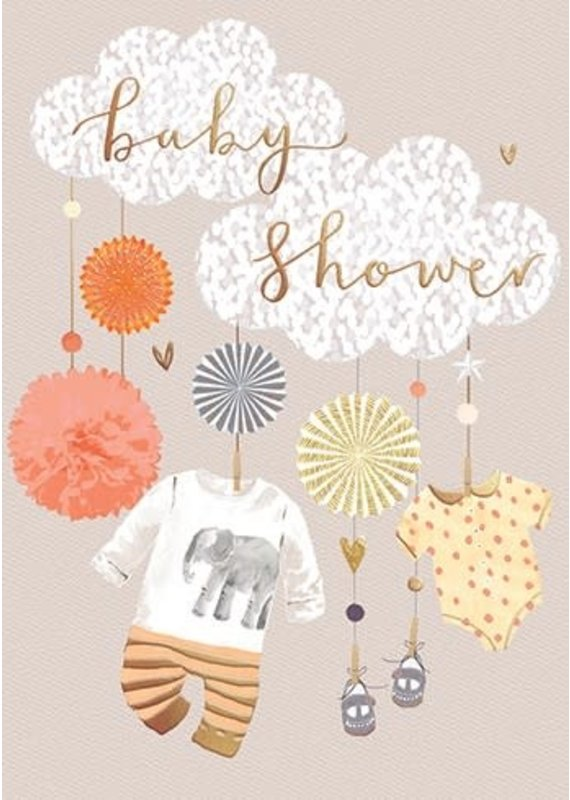 Louise Tiler Baby Shower Clothesline