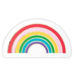 Slant Large Rainbow Napkin