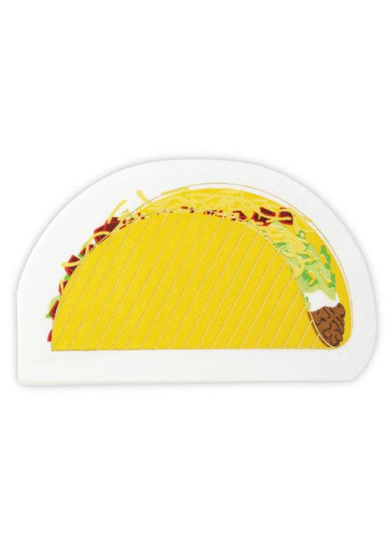 Slant Taco Napkins