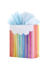 Gift Wrap Co. Lucky Stripe Large Bag