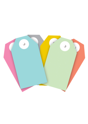 Gift Wrap Co. Pastel Gift Tags