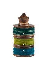 Santa Barbara Studio Velvet Ribbon Spool Trio