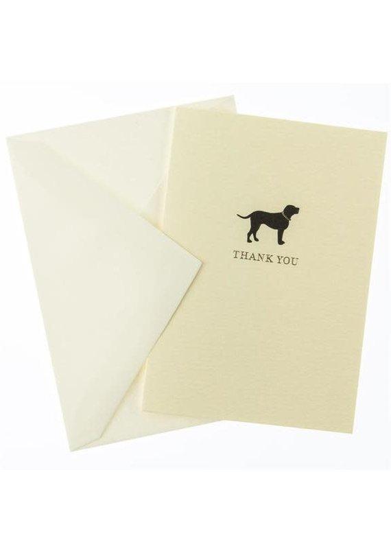 graphique de France Black Lab Boxed Notecards