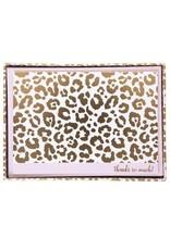 graphique de France Cheetah foldover Boxed Notes