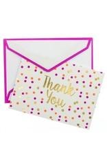 graphique de France Neon Dots Boxed Note cards