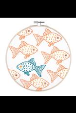 PopLush Happy Misfit Embroidery Kit