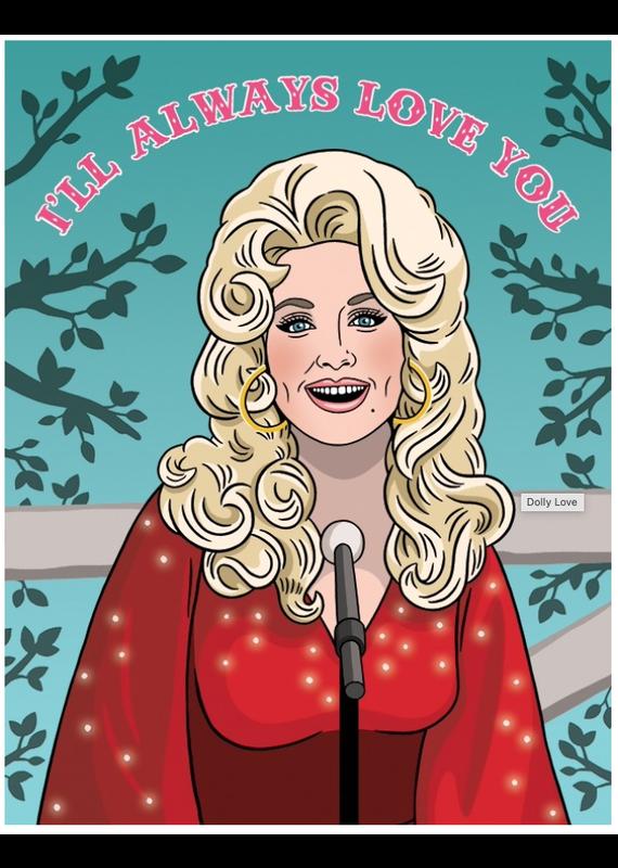 The Found Dolly Parton Valentine