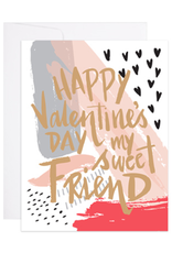 9th Letterpress Painted Valentine