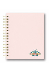Studio Oh Embroidered Spiral notebooks