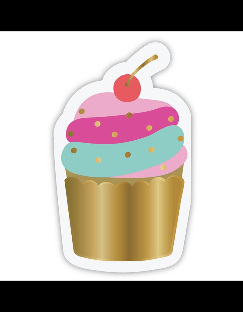 Slant Cupcake Party Napkin