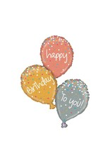 Anagram Metallic Sparkling Birthday Balloon