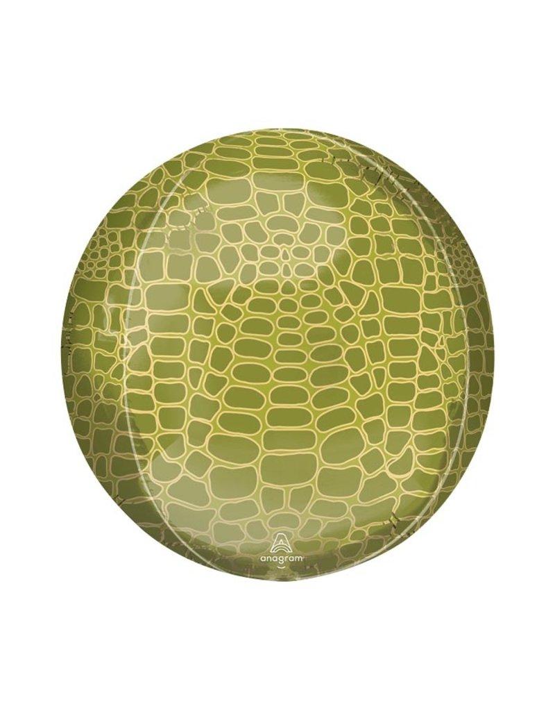 Anagram Croc Skin Orbz Balloon