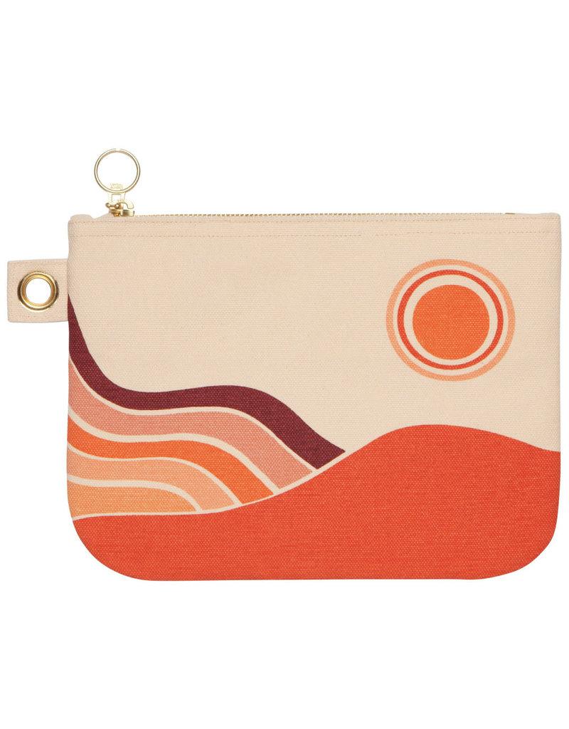 Danica Studio Desert Landscape Linen Pouch