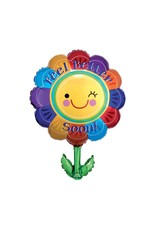 Anagram Feel Better Soon Flower Balloon