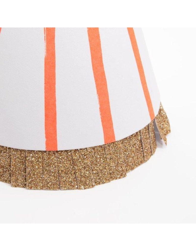 Meri Meri Stripe Pompom Party Hats