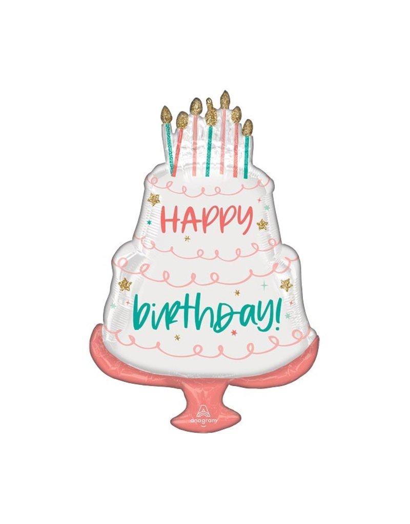 Anagram Happy Cake Day balloon