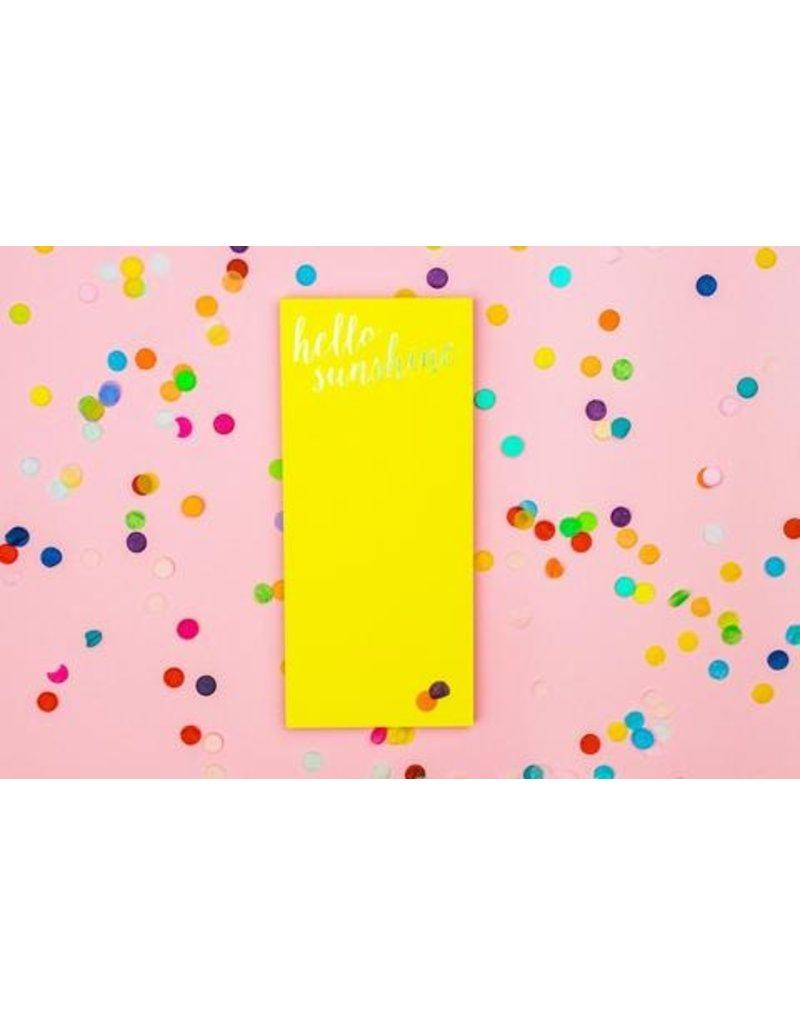 Taylor Elliott Designs Hello Sunshine List Pad