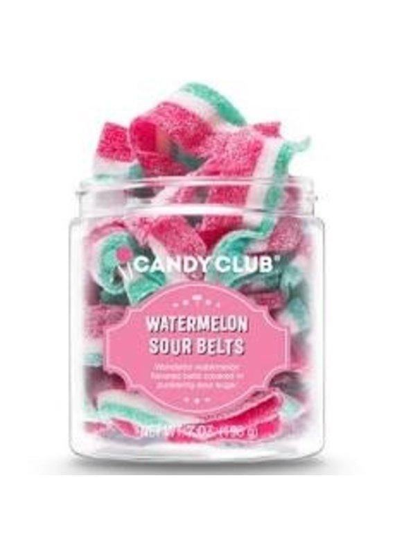 Candy Club Watermelon Sour Belts