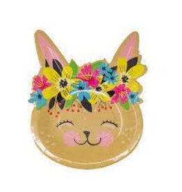 Party Partners Bunny Plates