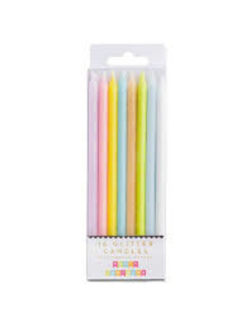 Party Partners Party Partners Pastel Rainbow Candles