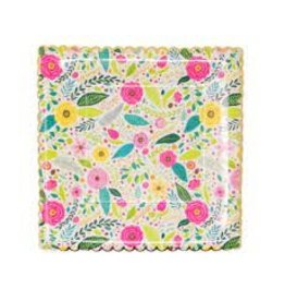 Party Partners Spring Floral Plates