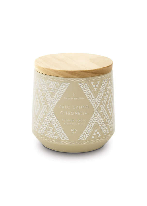 Skeem Design Palo Santo Citronella Outdoor Candle