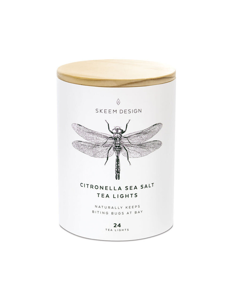 Skeem Design Citronella Sea Salt Tea Lights