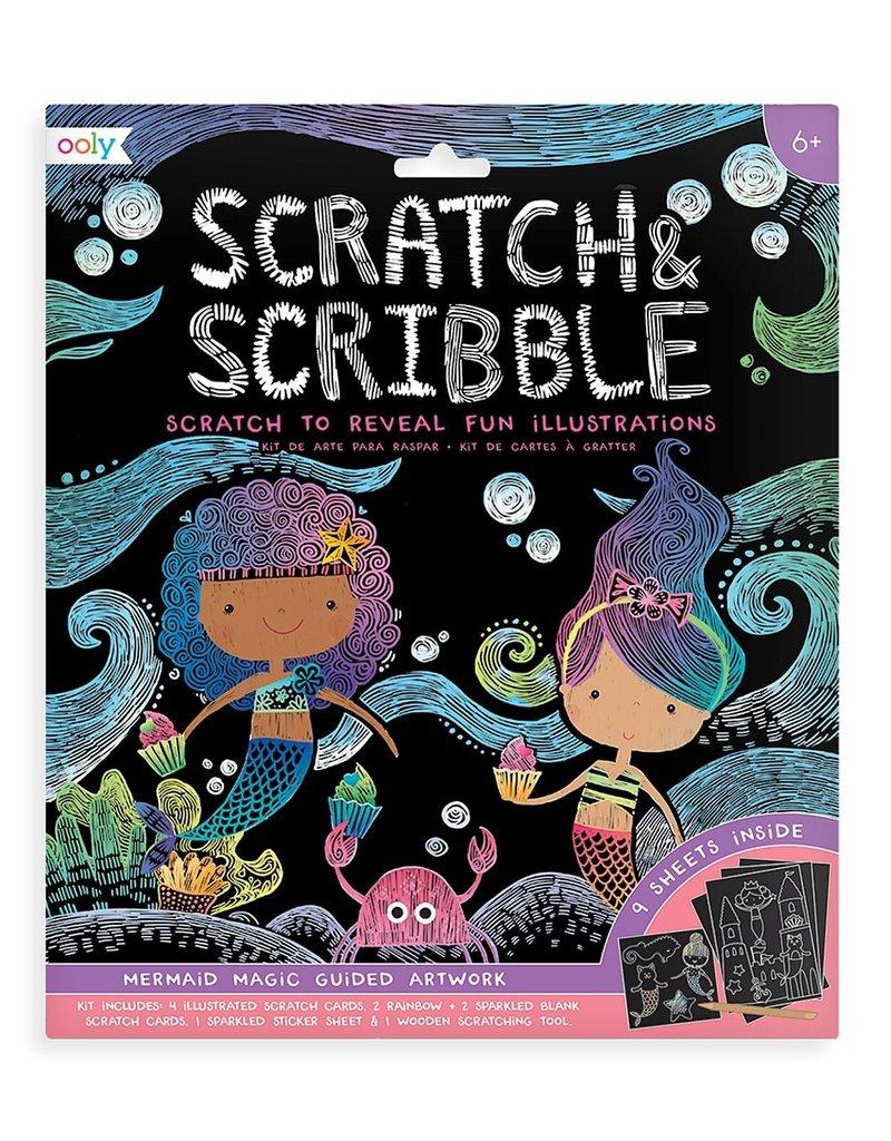 Ooly Scratch & Scribble Mermaid Magic