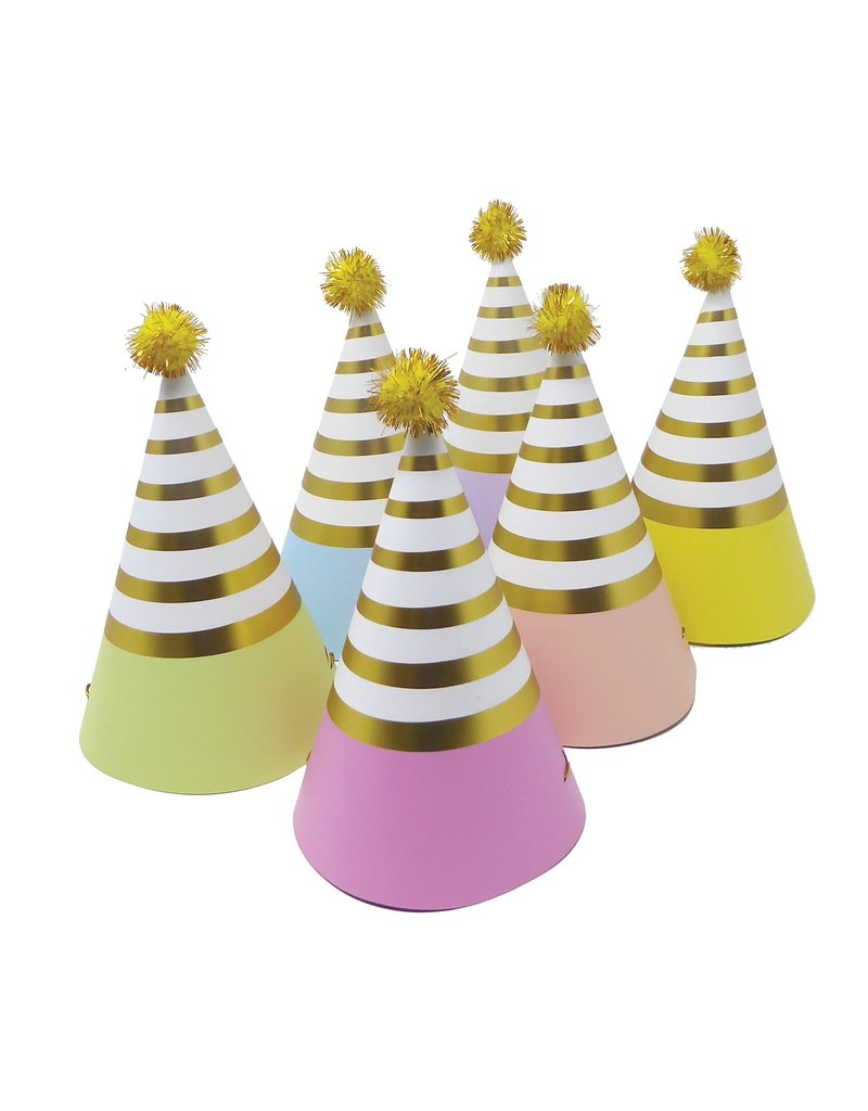 Party Partners Pastel Party Hats
