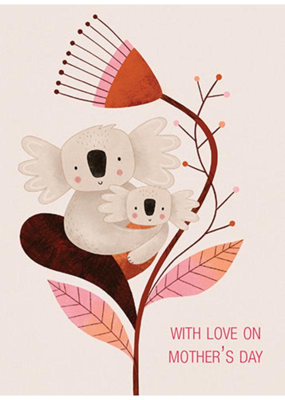 Carte Koala Mom