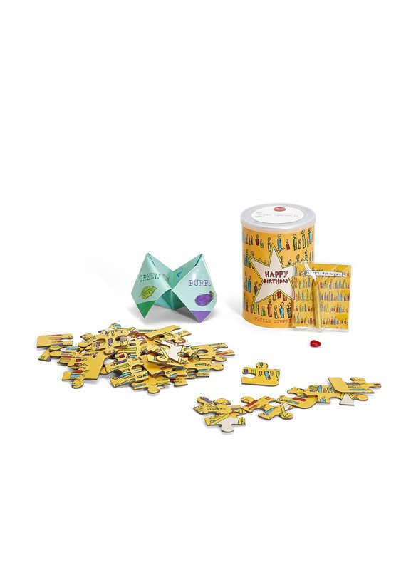 Poet & Painter Jigsaw Puzzle Greeting Cans