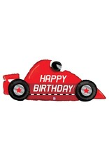 Racecar Birthday Balloon