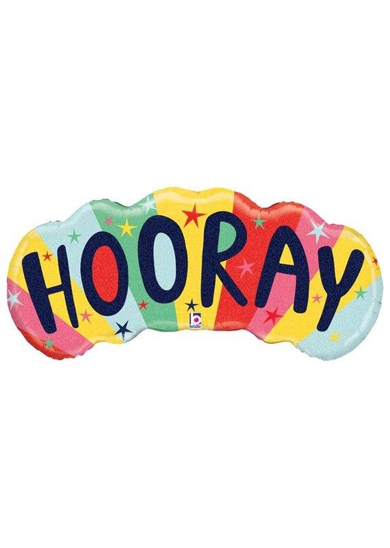 Colorful Hooray Balloon