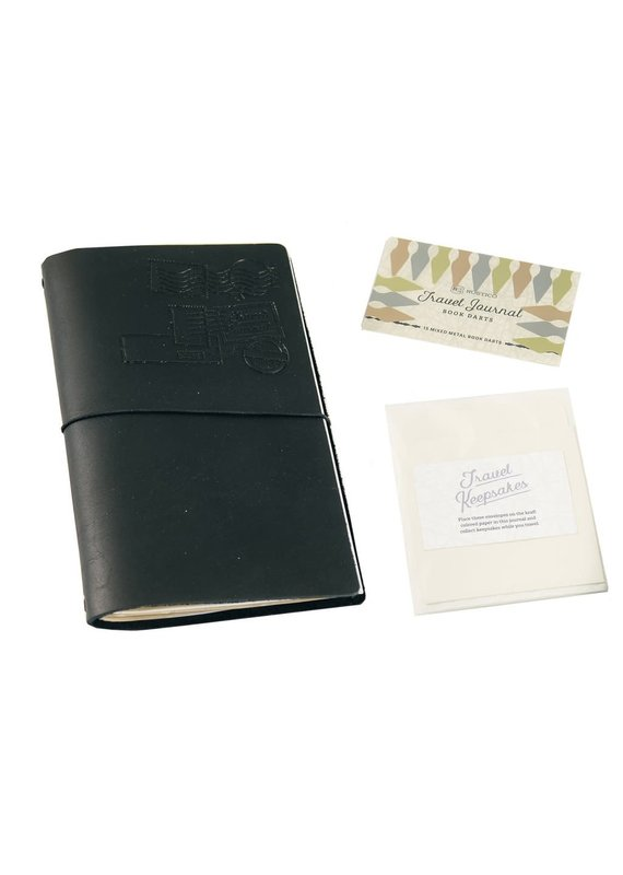 Rustico Globetrotter Leather Travel Journal