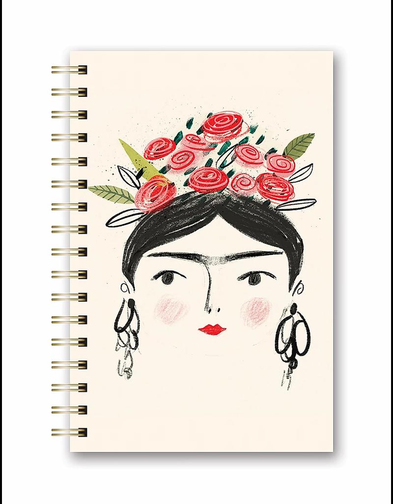 Studio Oh Spiral Notebook - Frida