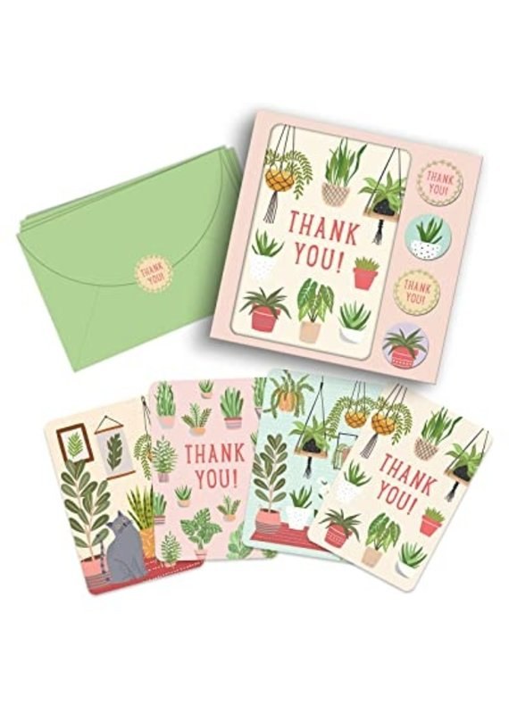 Studio Oh Note card set House Plants