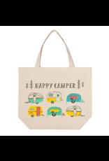 Danica Studio Happy Camper Canvas Tote