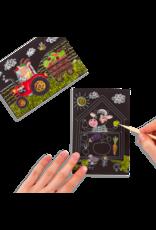 Mini Scratch & Scribble Farm Animals